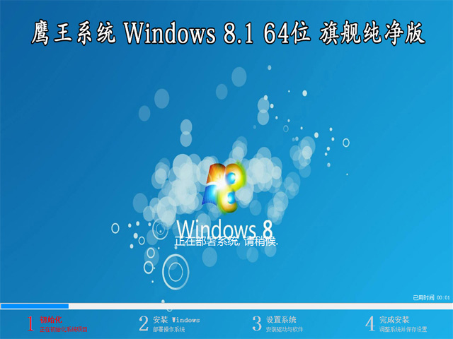 【技术员系统】 Windows 8.1 专业版 64位(纯净版)