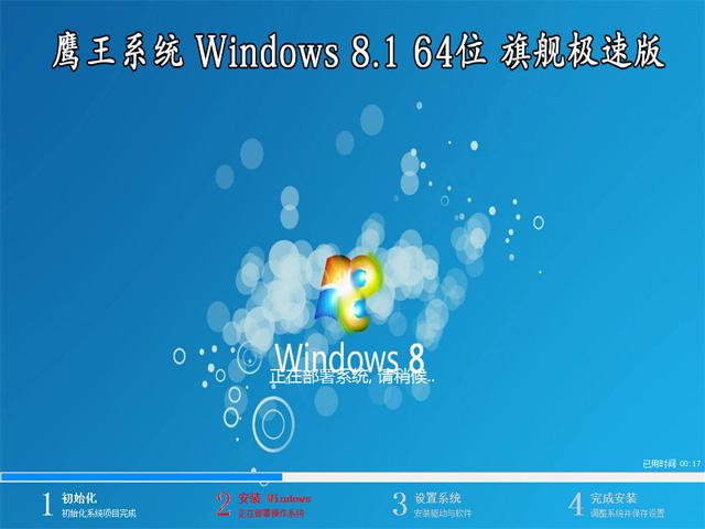 【技术员系统】 Windows 8.1 64位 专业版(极速版)