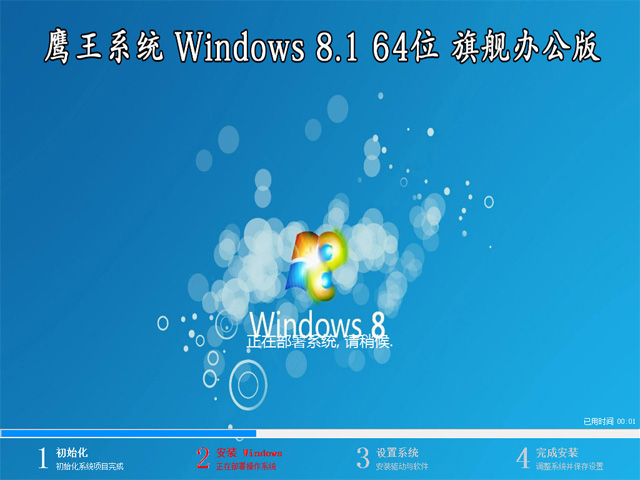 【技术员系统】 Windows 8.1 专业版 64位(办公版)